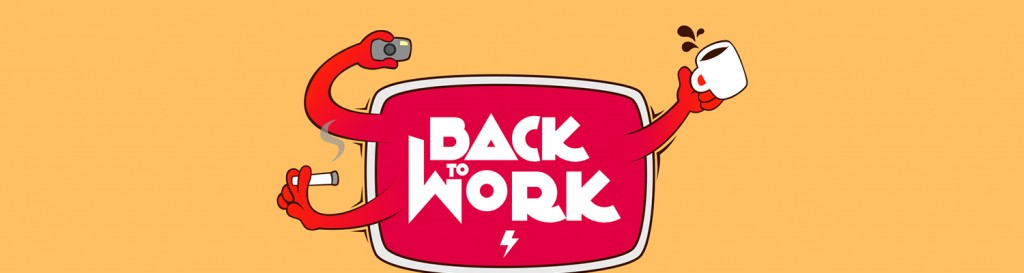 """Back to work"" un wallpaper de Jesus Servigna"
